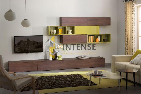 Магазин корпусной мебели Intense производит Гостиные из эмали - Гостиная - Контраст