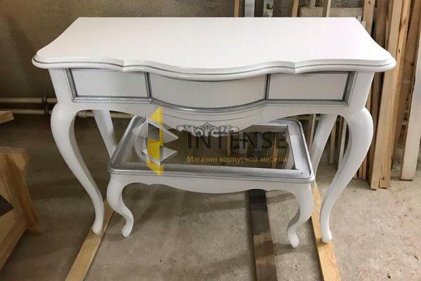 Магазин корпусной мебели Intense производит  - Консоль из массива ясеня