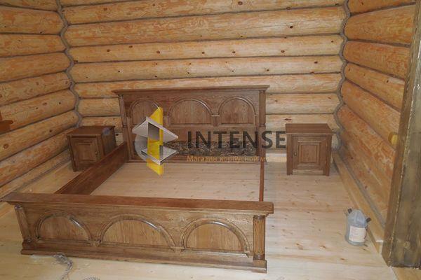 Магазин корпусной мебели Intense производит Спальни из массива - Кровать
