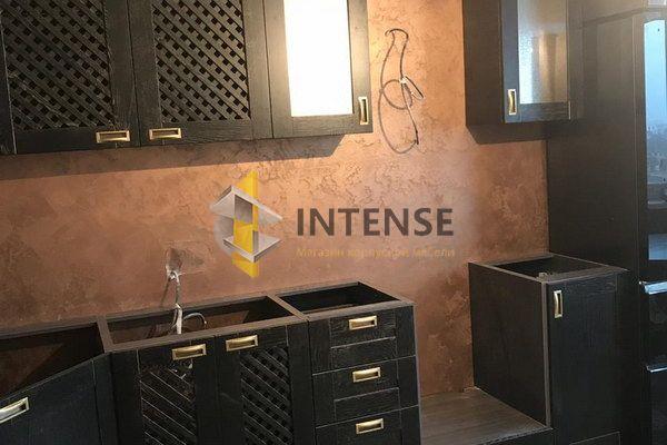Магазин корпусной мебели Intense производит Кухни из массива дуба, бука, ясеня - Кухня массив дуба в черной эмале
