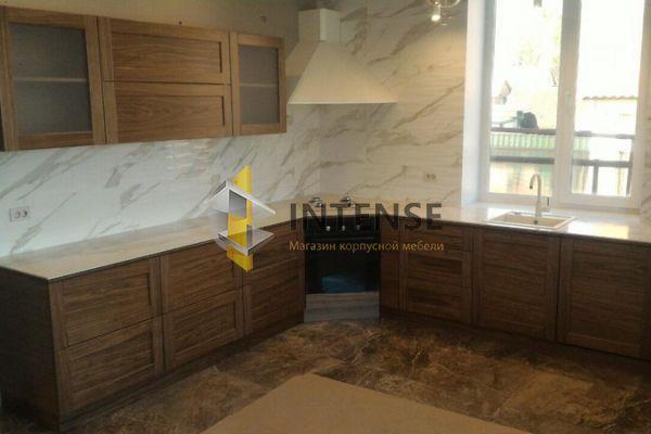 Магазин корпусной мебели Intense производит Кухни Неоклассический стиль - Кухня Мдф-шпон американский орех