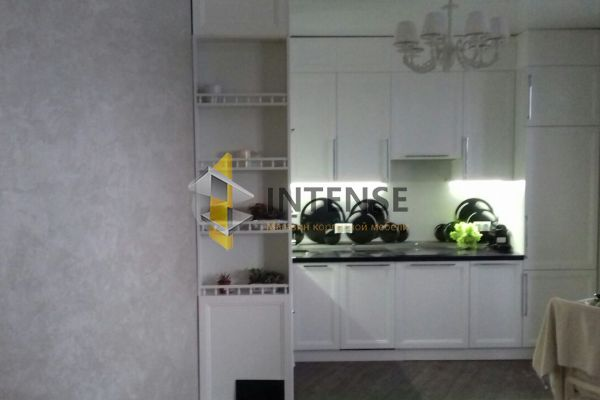 Магазин корпусной мебели Intense производит Кухни Неоклассический стиль - Кухня Бланко - фасад Эмаль