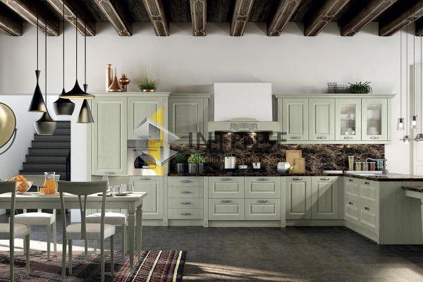 Магазин корпусной мебели Intense производит Кухни Неоклассический стиль - Кухня Нонна