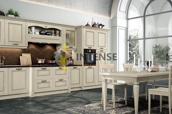 Магазин корпусной мебели Intense производит Кухни Неоклассический стиль - Кухня Сандра