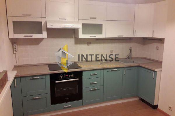 Магазин корпусной мебели Intense производит Кухни Современный стиль - Кухня Бирюза - Эмаль