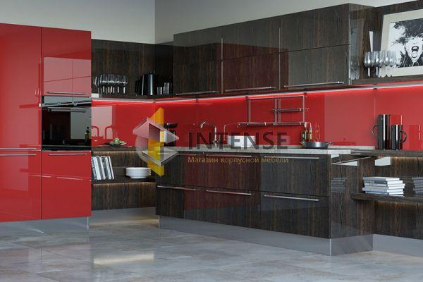 Магазин корпусной мебели Intense производит Кухни Современный стиль - Кухня Глазурь - Эмаль + шпон
