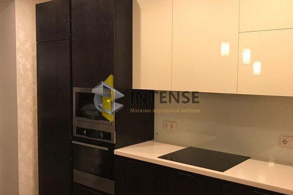 Магазин корпусной мебели Intense производит Кухни Современный стиль - Кухня мдф-шпон дуба, эмаль глянец