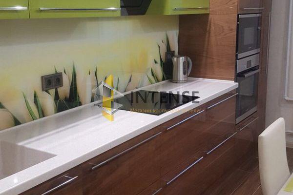 Магазин корпусной мебели Intense производит Кухни Современный стиль - Кухня Тренд - Эмаль+Шпон