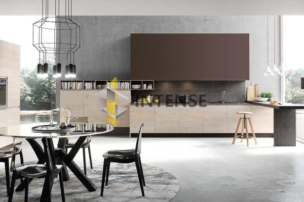 Магазин корпусной мебели Intense производит Кухни Современный стиль - Кухня Вега 3 - Эмаль