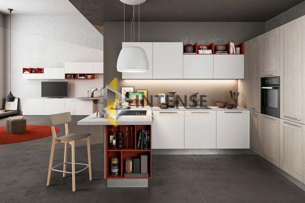 Магазин корпусной мебели Intense производит Кухни Современный стиль - Кухня Габриэль