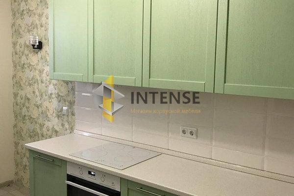 Магазин корпусной мебели Intense производит Кухни Современный стиль - Кухня фисташковая