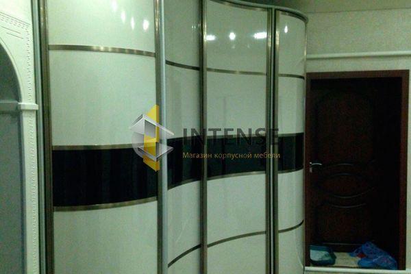 Магазин корпусной мебели Intense производит Шкафы сферические - Шкаф сферическо-вогнутый в прихожей.