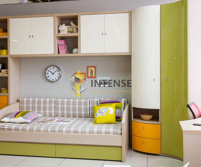 Магазин корпусной мебели Intense производит Детские из эмали - Стелла