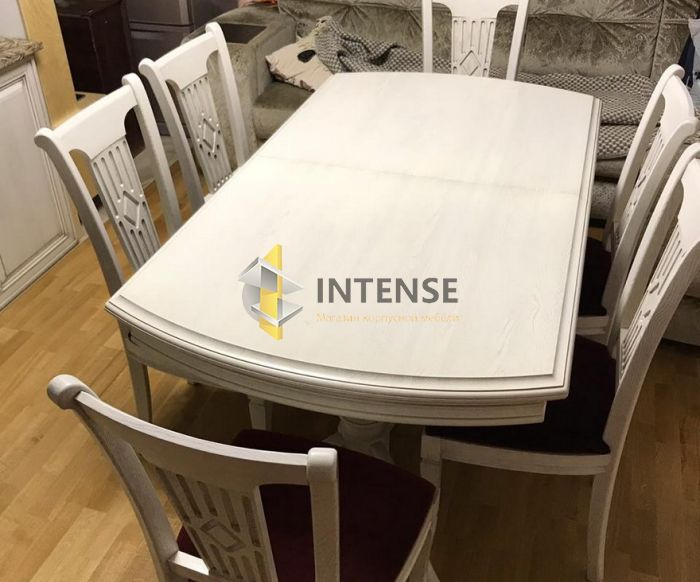 Магазин корпусной мебели Intense производит Гостиные из массива - Набор в столовую