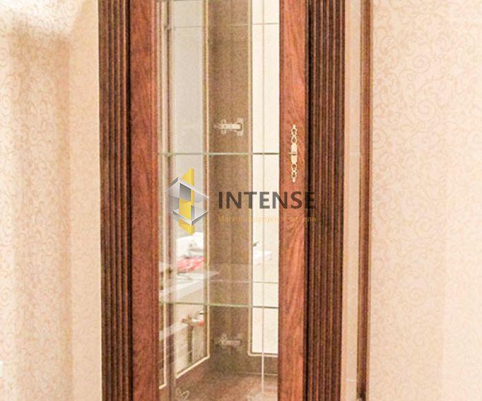 Магазин корпусной мебели Intense производит Гостиные из массива - Гостиная - Витрина