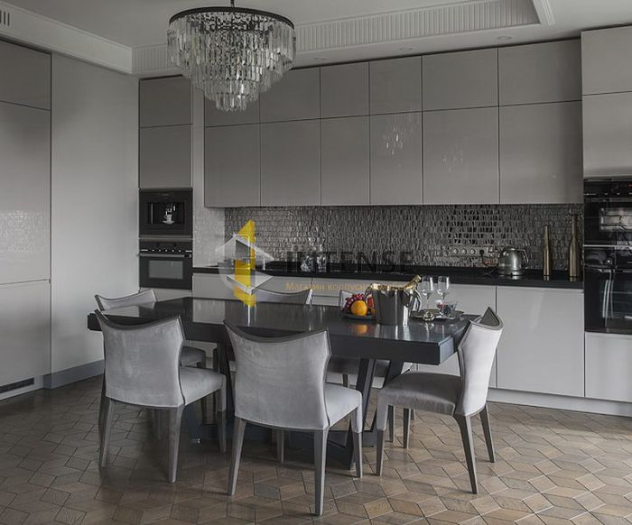 Магазин корпусной мебели Intense производит Кухни Современный стиль - Кухня Каприз - Эмаль