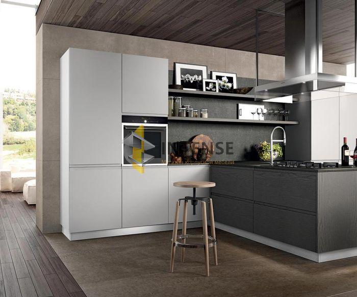 Магазин корпусной мебели Intense производит Кухни Современный стиль - Кухня Вега - Эмаль