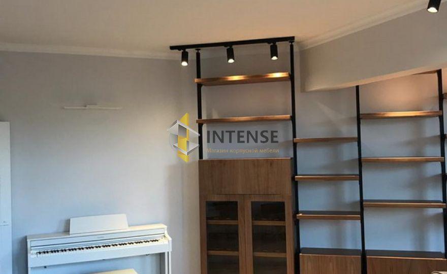Магазин корпусной мебели Intense производит Гостиные из массива - Стеллаж в гостиной